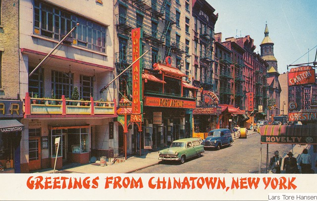 postcards from chinatown Chinese in chinatown 2 vintage postcards from curioshop on ruby lane.